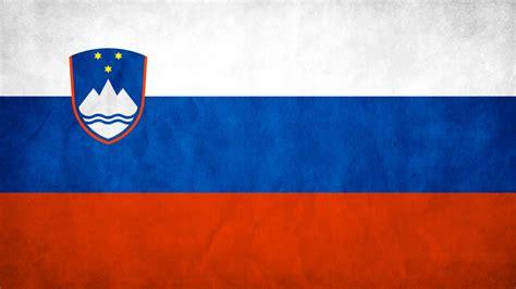 slovenia flag wallpaper high definition high quality