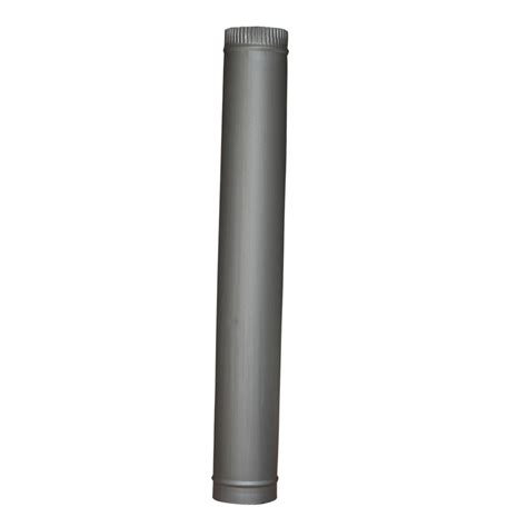 Fireplace Flue Pipe by 5 Quot 6 Quot Matt Black Chimney Flue Pipe For Wood Log Burning