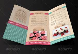 Cupcake Menu Template by 27 Bakery Menu Templates Free Sle Exle Format