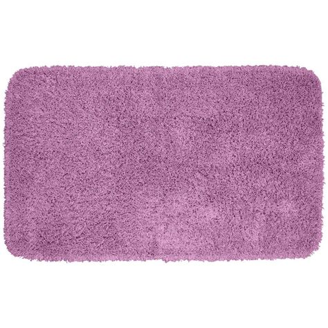 purple throw rug garland rug jazz purple 30 in x 50 in washable bathroom accent rug ben 3050 09 the home depot