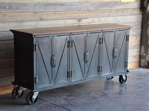 sideboard industrial ellis sideboard by vintage industrial icon