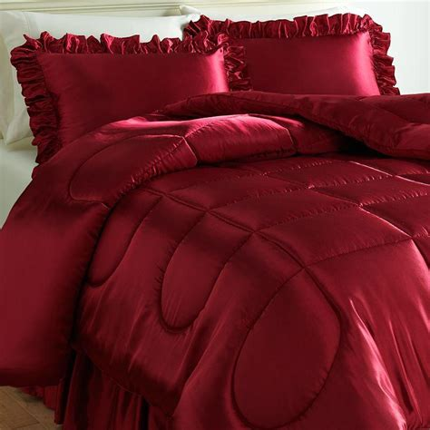 charmeuse satin comforter set twin from kohl s epic