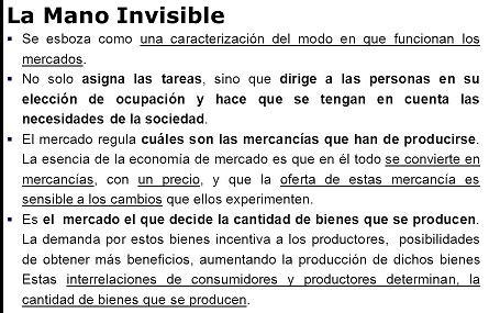 libro la mano invisible spanish mano invisible
