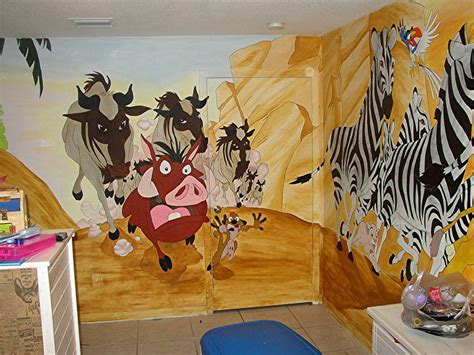 Spongebob Wall Mural lion king mural
