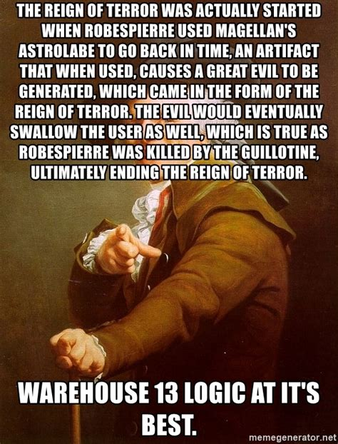 Joseph Ducreux Meme Generator - the reign of terror was actually started when robespierre