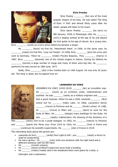 is biography a verb biographies simple past verb to be