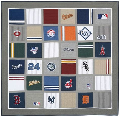Pottery Barn Baseball L by New Pottery Barn Mlb American League Quilt
