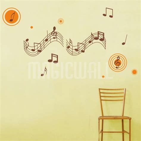 musical note wall stickers wall decals musical notes wall stickers canada
