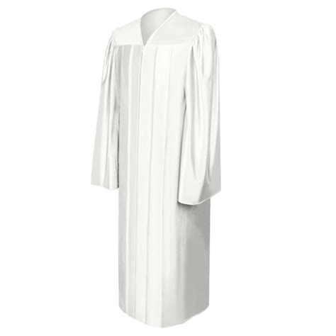 white robe deluxe royal blue choir robe churchgoers