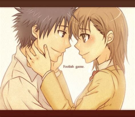 imagenes de parejas romanticas de anime kamijou touma x misaka mikoto shojo y m 225 s amino