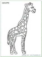Giraffe Printable Template by Giraffe Printable Templates Coloring Pages