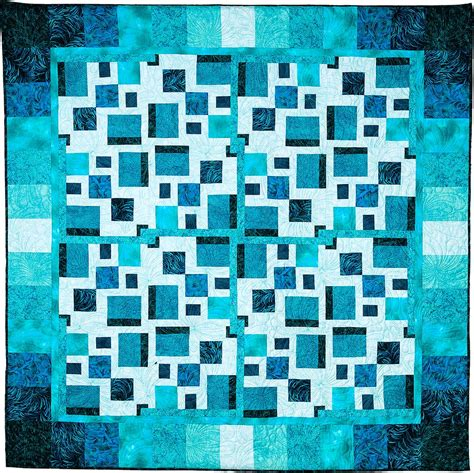 square modern quilt pattern quilts by jen