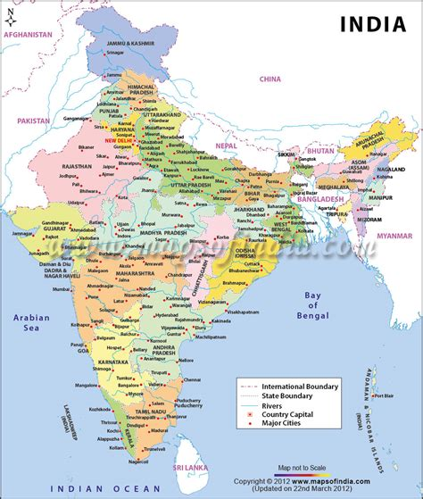 map india india map free large images