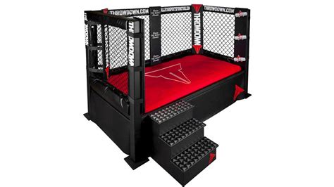 bed cage mma cage bed wrestle your spouse for sheet supremacy