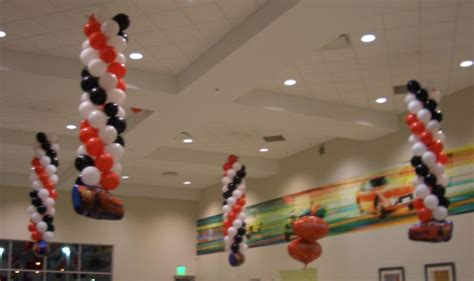 How To Hang Decorations From Ceiling by It S A Air Filled Balloon Decorations Hanging From