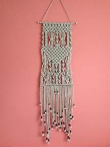 Home Decor Hanging by Macrame Wall Hanging Macrame Home Decor