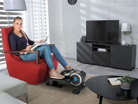 couch trainer skandika sit fit elliptical mini leg crosstrainer desk