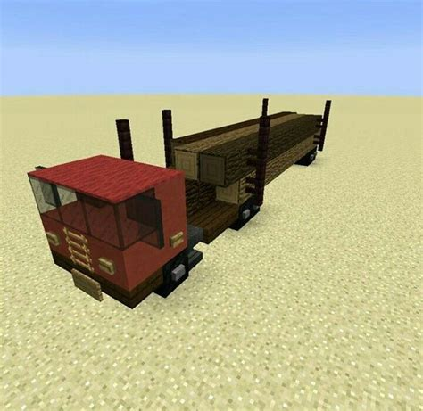 minecraft truck minecraft biome logging truck build minecraft