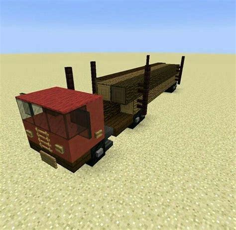 minecraft truck minecraft biome logging truck build minecraft