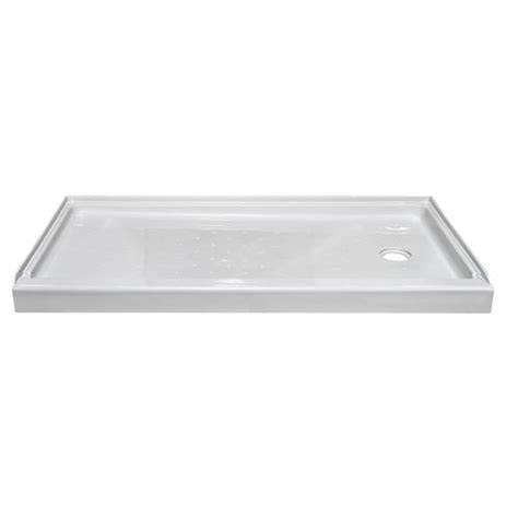 Menards Shower Pan by Lyons Elite 60 Quot X 32 Quot Shower Base Right Drain At
