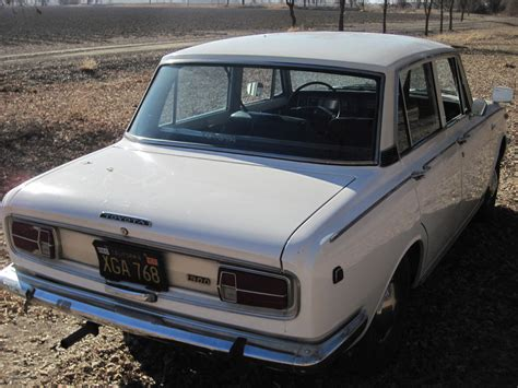 Toyota Corona For Sale One Owner Until 2012 1968 Toyota Corona But Trusty