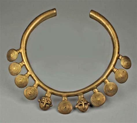 brass jewelry india assam necklace from the naga late 19th