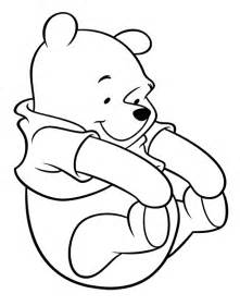 winnie pooh colouring pages