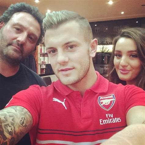 jack wilshere hair cut 2014 photo jack wilshere shows off new haircut ahead of