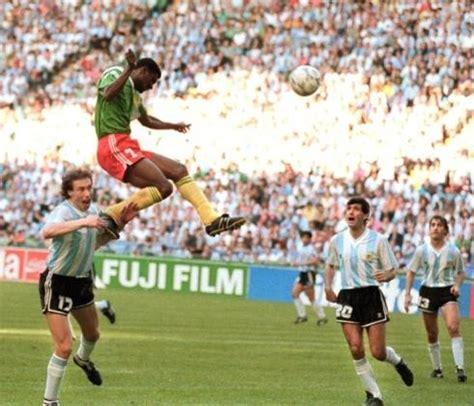 coupe du monde 90 le cameroun football langue