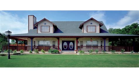 Country House Plans With Open Floor Plan Country House Country House Plans Wrap Around Porch