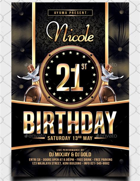 43 Birthday Flyer Templates Word Psd Ai Vector Eps Free Premium Templates Birthday Flyer Template