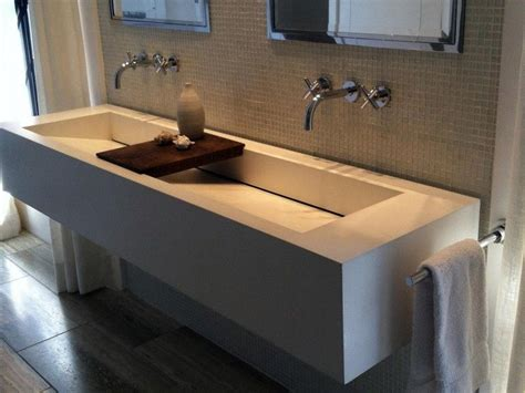 Single Sink With Two Faucets by Absolutely Design Bathroom Sink With Two Faucets Sinks