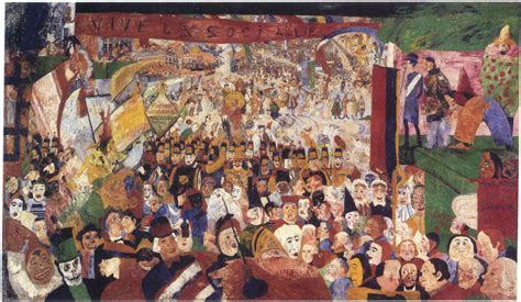festival painting bruxelles s entry into brussels in 1889 1888 ensor