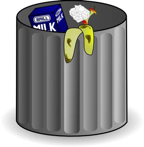 trash can trash clip at clker vector clip royalty free domain