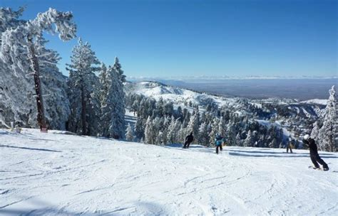fantastic view picture of mountain high resort