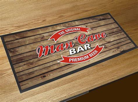 Bar Runner Mat by Cave Label Bar Runner Counter Mat Wood Effect