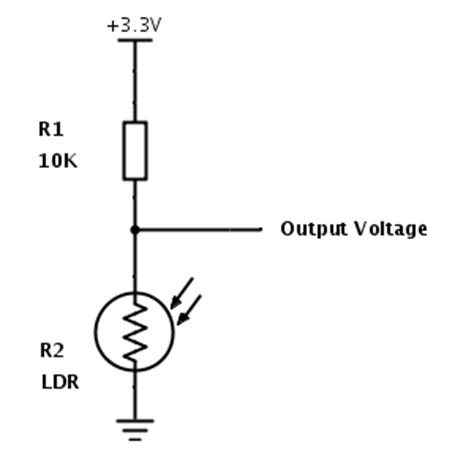 light dependent resistor calculations ldr exle