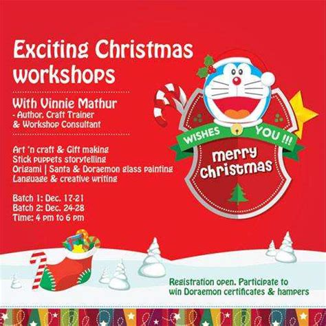 exciting christmas workshops with vinnie mathur from 17 to