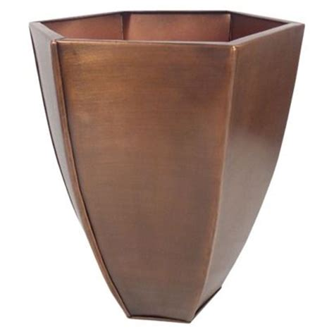 smith and hawken planters smith hawken hexagonal copper planter 12 garden copper planters planters