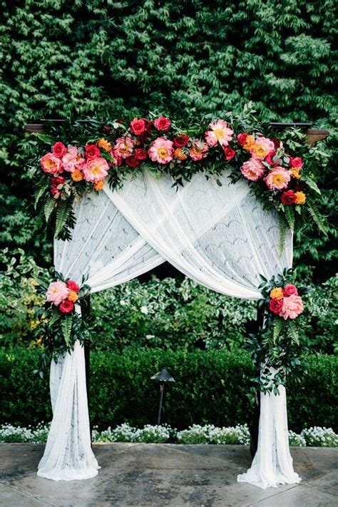 Wedding Arch Backdrop Ideas by Trending 15 Wedding Backdrop Ideas For Your