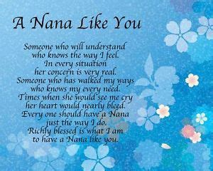 Details Aboutalised A Nana You Poem  Ee  Birthday Ee
