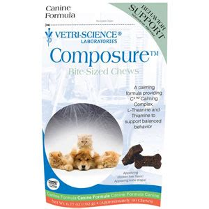 composure for dogs composure bite sized chews for dogs 60 soft chews vetdepot