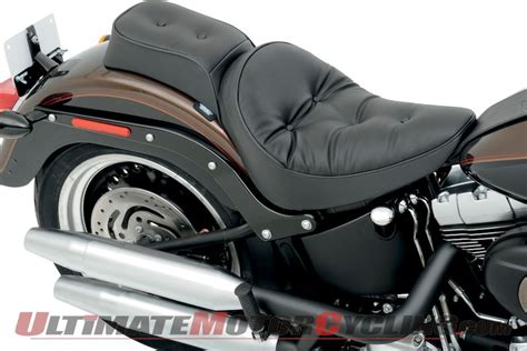 Harley Davidson Seats For Softail by Drag Specialties Chopped Seat For Harley Softails