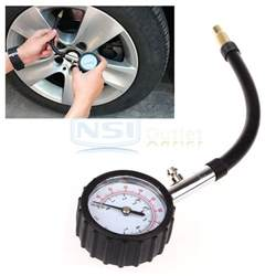 Car Tires Psi Recommendations Tyre Tire Air Pressure Meter Tester Car Truck