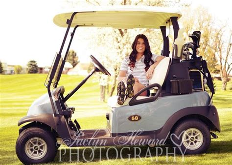 pin by jaclyn heward on jaclyn heward photography pinterest golf senior picture ideas golf cart jaclyn heward