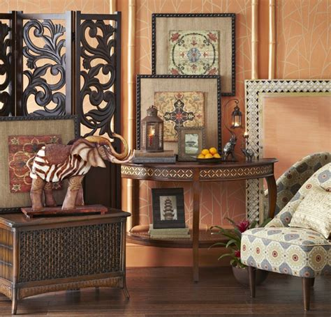 global design home decor look for art that complements the different patterns and