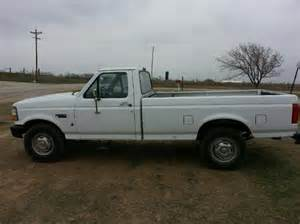 sell used 1996 ford f 250 4 9ltr v6 gas cng engine white
