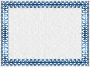 powerpoint template certificate 15 new blue border certificate templates blank certificates