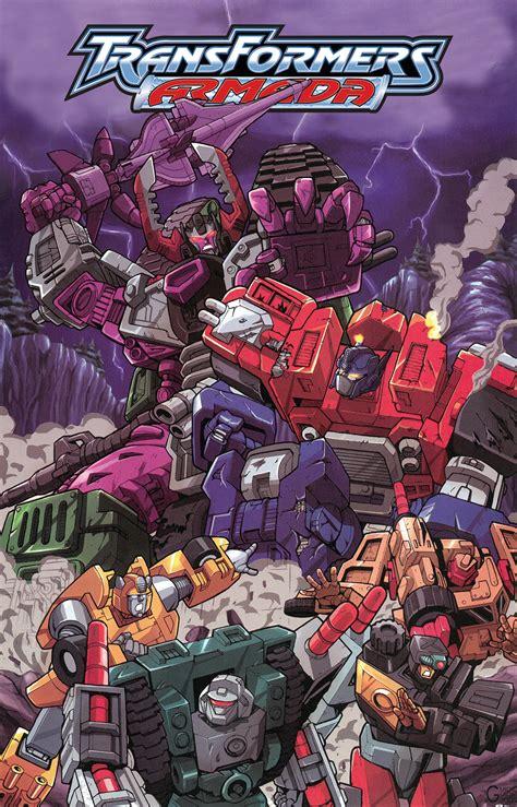 transformers armada transformers armada omnibus idw publishing