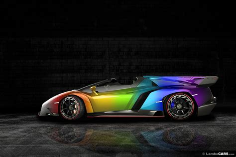 How Much Is The Lamborghini Veneno Roadster All Possible Lamborghini Veneno Colors Imagined